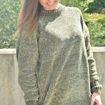 Your Calling Sweater - Olive