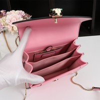 2020 New Office BVLGARI PINK Women Leather Marmont Handbag Neverfull Bags Tote Shoulder Bag Wallet Purse Bumbag Discount Cheap Bags Best Quality