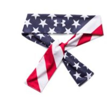 Under Armour Women's UA 4th Of July Tie Headband