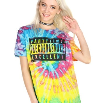 PARTY TIME TIE DYE TEE