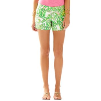 Lilly Pulitzer Resort White Seeing Pink Elephants Callahan Shorts