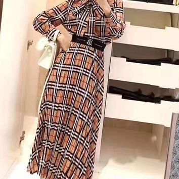 """""""Tb"""" Woman's Leisure  Fashion Embroidery Letter Open Buckle Printing Long Sleeve  Long Skirt Two-Piece Set Casual Wear"""