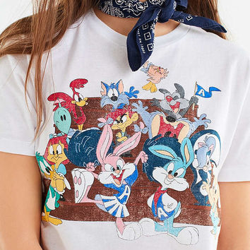 Tiny Toons Cropped Tee | Urban Outfitters