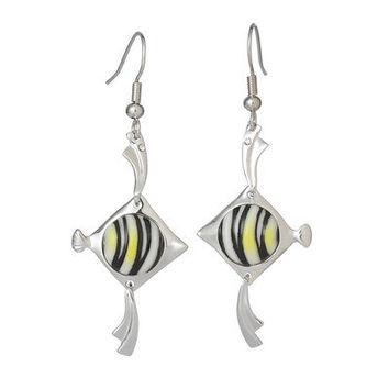 Franz Collection Angel Fish Earrings