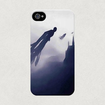 Harry Potter Dementors Watercolour Illustration iPhone 4 4s 5 5s 5c Samsung Galaxy S3 S4 Case