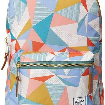 Herschel Supply Co. Settlement Mid-Volume, Quilt/Seafoam/Natural Rubber, One Size