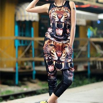 2 Piece Harem Leggings