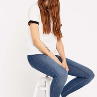 Cheap Monday Spray On Originals Blue Jeans - Urban Outfitters