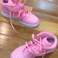 FREE SHIPPING/DELIVERY Baby Pink air Force 1