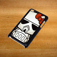 Hello Kitty Stormtrooper For iPod Touch 4 Case *76*