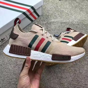 Adidas: NMD R1 GUCCI Ventilated running shoes
