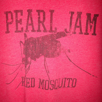 Pearl Jam Mosquito 50/50 T Shirt Soft Polyester Cotton Grunge Seattle Nirvana Rock Sub Pop Tee