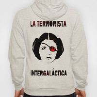 Princess LEIA La Terrorista Hoody by Mr Mahaffey