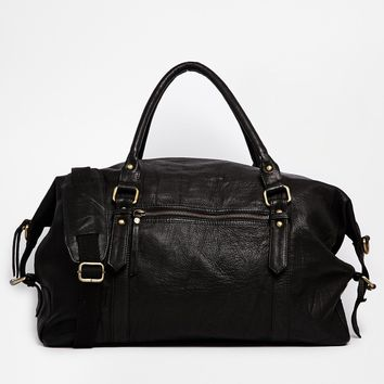 ASOS Leather Holdall