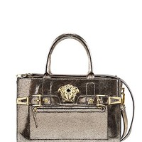 Versace - Palazzo Textured Leather Tote