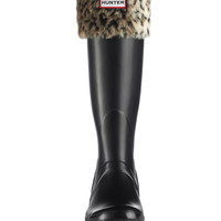 Leopard Welly Socks | Rain Boot Socks | Hunter Boots