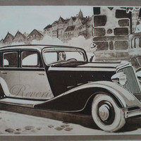 Vintage French Ad  Renault Stella Automobile 1933 by reveriefrance
