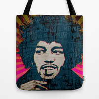 Are You Experienced Tote Bag by Gigglebox