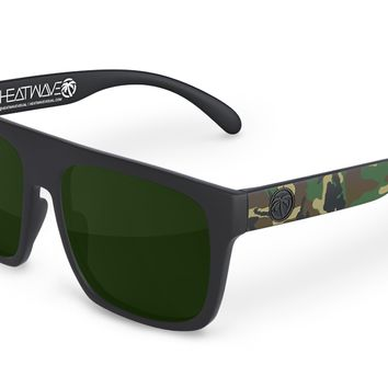 Regulator Sunglasses: Woodland Camo Customs