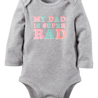 Super Rad Dad Collectible Bodysuit