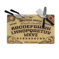 Ouija Cheese Board w/ 4 Cheese Knives