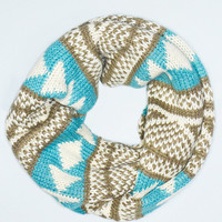Nordic Winters Infinity Scarf