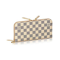 Louis Vuitton Damier Canvas Insolite Wallet N63072 Made in France