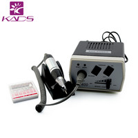 KADS 30000RPM Black nail drill Nail Art Equipment Manicure Tools Pedicure Acrylics Grey Electric Nail Drill Pen Machine Set