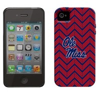 Mississippi Rebels Chevron iPhone 4 Vibe Case - Crimson