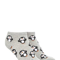 Penguin Print Ankle Socks