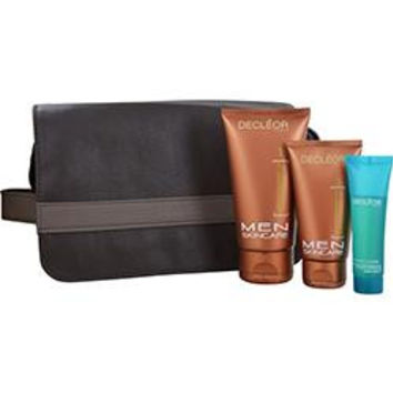 Scrub Gel 125ml + Shave Perfector Serum 1ml + Soothing After Shave Fluid 75ml + Toning Shower & Bath Gel 30ml In Pouch