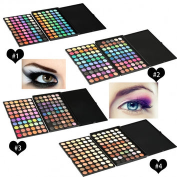 120 Color Professional Makeup Eye Shadow Shimmer Matte Cosmetic Eyeshadow Palette Set