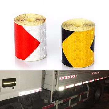 Arrow Reflective Adhesive Tape Safety Caution Sticker