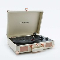 Crosley Cruiser Rose Gold EU Plug Record Player - Urban Outfitters