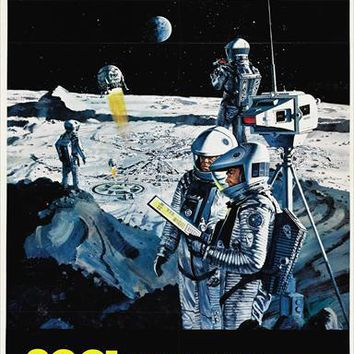2001: A Space Odyssey 27x40 Movie Poster (1968)