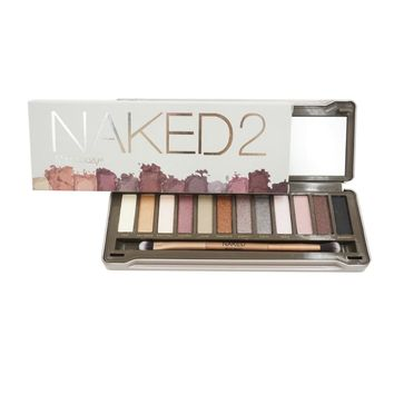 Nk 2 3 5  eyeshadow  Glitter Palette Brow Cosmetic Makeup Natural Matte Gift Pro Nude 12 Color
