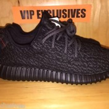 957f0481c5e16 Adidas Yeezy 350 Boost Low Kanye West Triple Black Pirate Black AQ2659