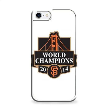SAN FRANCISCO GIANTS WORLD CHAMPIONS iPhone 6 | iPhone 6S case