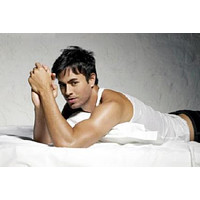 Enrique Iglesias poster Metal Sign Wall Art 8in x 12in