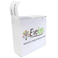 Evelots 250 Count Food Storage Labels for Refrigerator or Freezer