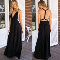 Women's Fashion Prom Dress One Piece Dress [224323895311]