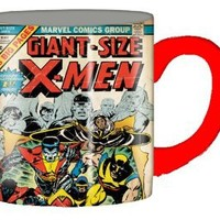 Silver Buffalo MC3932 Marvel Comics Giant Size X-Men Ceramic Mug, 14 Ounces, Multicolored