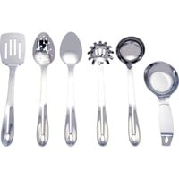 Maxam® 6pc Stainless Steel Kitchen Tool Set