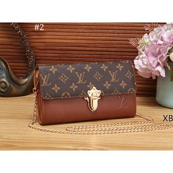 LV Louis Vuitton 2018 new wild portable chain bag shoulder diagonal package #2