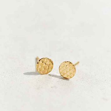 Diament Jewelry X Urban Renewal Textured Dot Stud Earring