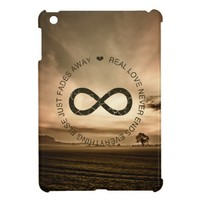 Love Infinity misty sunset iPad mini case from Zazzle.com