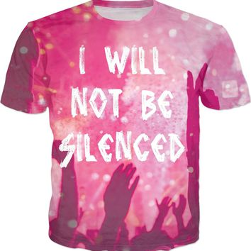 I Will Not Be Silenced Crowd T-Shirt