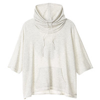 Drawstring Funnel-neck Poncho - Super Soft Knits - Victoria's Secret
