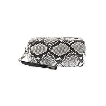 Snake Skin Box Cosmetic Pouch