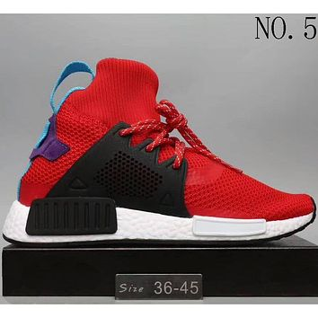Adidas NMD men and women tide fashion personality fashion sneakers F NO.5
